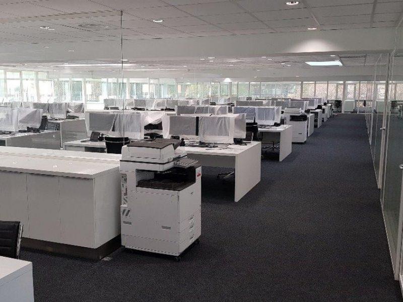 Bureaux pour open-space